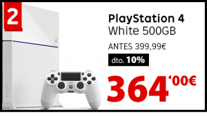 Playstation4-Blanca